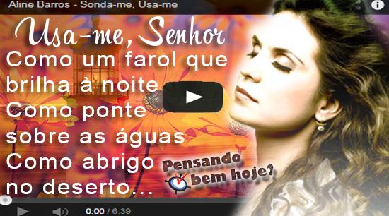 Aline Barros - Sonda-me, usa-me Lyrics | Musixmatch