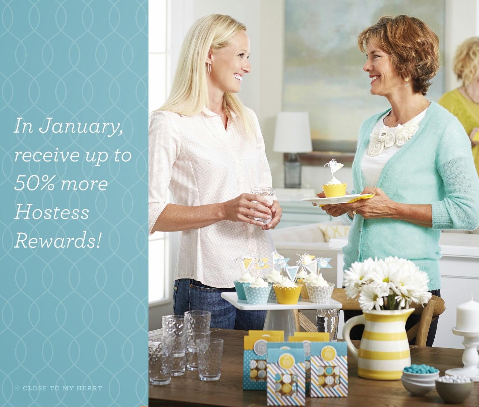 CTMH's January Hostess Promotion: Extra! Extra! Hostess Rewards!!