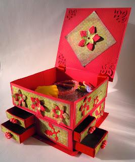 Как сделать шкатулку из коробков 385