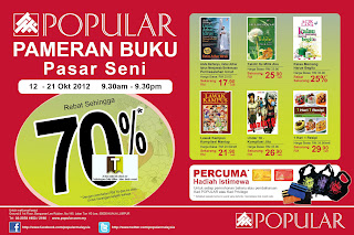 Popular Book Fair Pasar Seni 2012