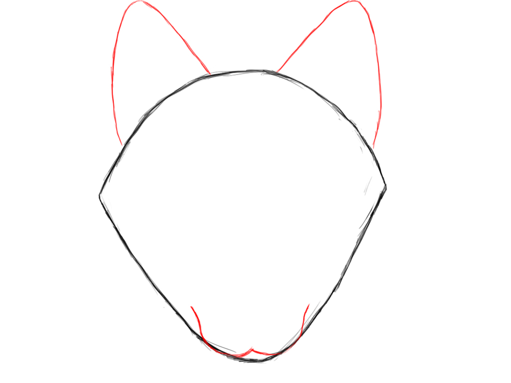 how to draw a wolf draw central
