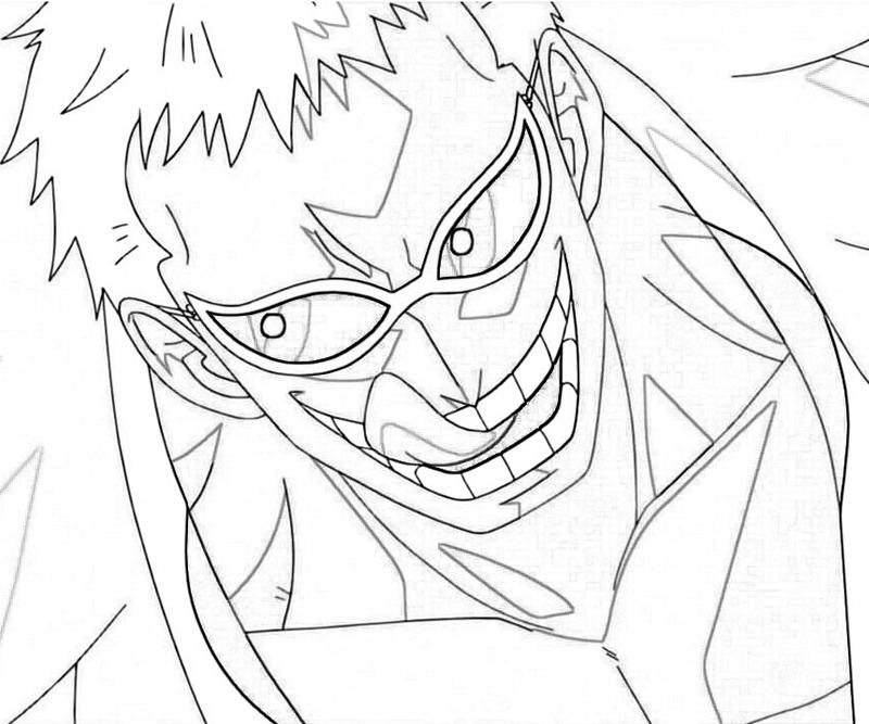 One Piece Donquixote Doflamingo Funny How Coloring