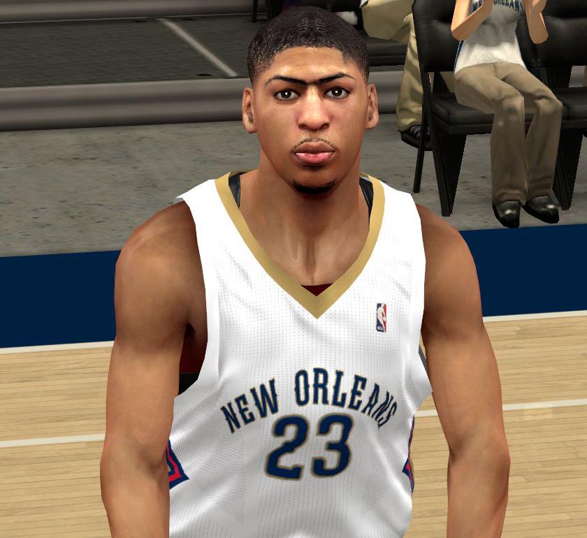 NBA 2K14 Anthony Davis Cyberface Patch