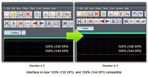 125% ( 120 DPI ) and 150% ( 144 DPI )