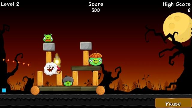 Angry Birds �� ������� Nokia 5230
