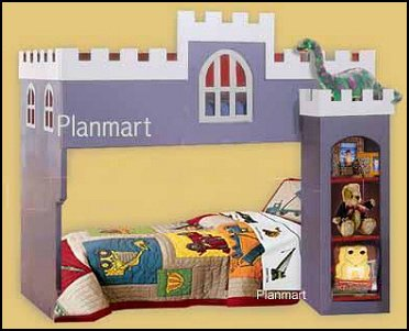 free plans for themed bunk beds