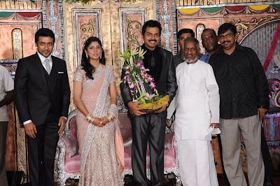 Karthi Wedding Reception Photos function pics