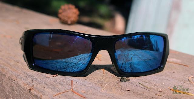 Walleva Replacement Lenses For Oakley GasCan Sunglasses - Blue Lenses 2