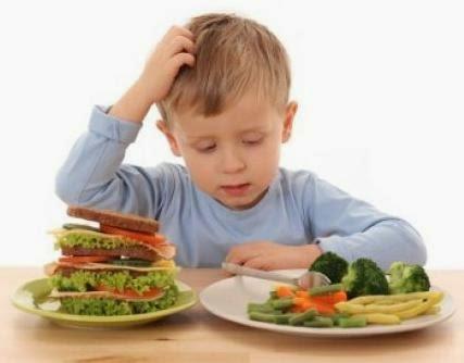 Anak pilih makan