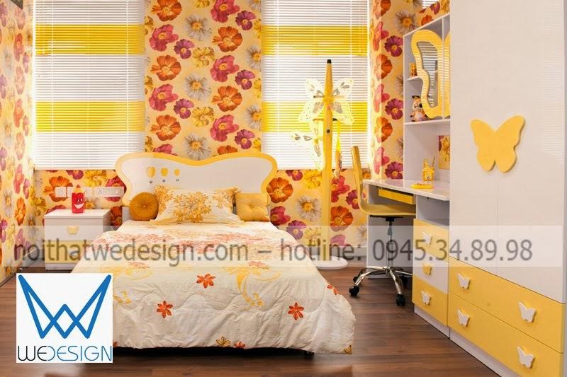 Phòng ngủ bướm xinh