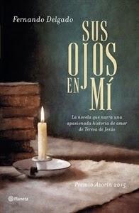 Día del Libro: Sus ojos en mí, de Fernando Delgado.