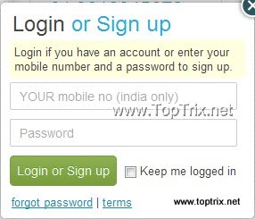 TextMe sign up