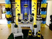 Decoração festa infantil Porto Alegre - Batman