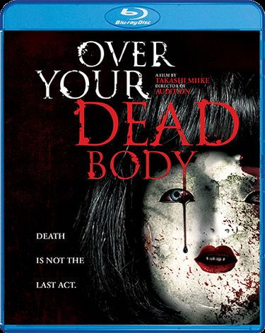 Over Your Dead Body Blu-ray cover