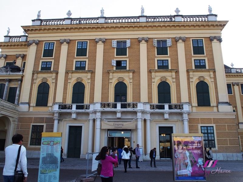 vienna schonbrunn palace unesco world cultural heritage site