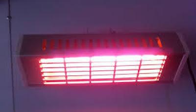 Dòng đèn sưởi hồng ngoại UFO nổi tiếng tại Châu Âu