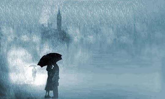 Ảnh đẹp lãng mạn dưới cơn mưa