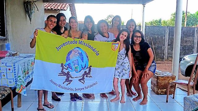 JM de Gurupi (TO) trabalha Jornada do Jovem Missionário