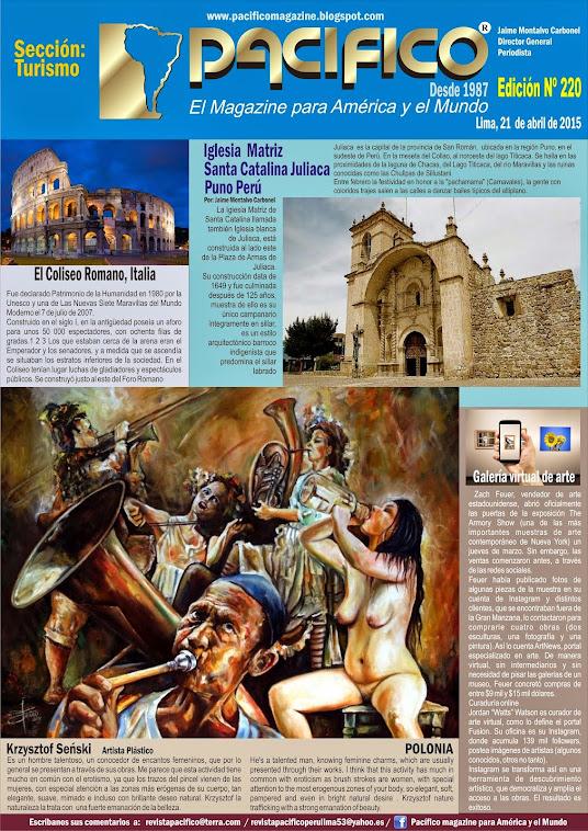 Revista Pacífico Nº 220 Turismo