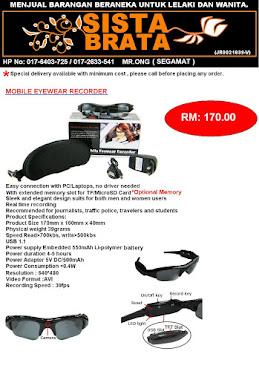 Spy Glasses RM 170