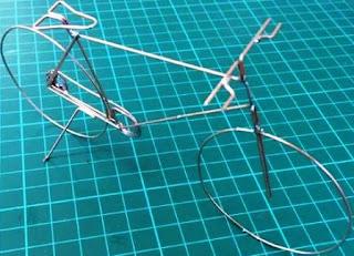 Cara Membuat Sepeda engkol dari kawat