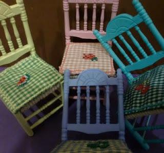 miniaturas sillas