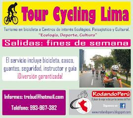 Conoce Lima en bicicleta, redescubre tu mundo.