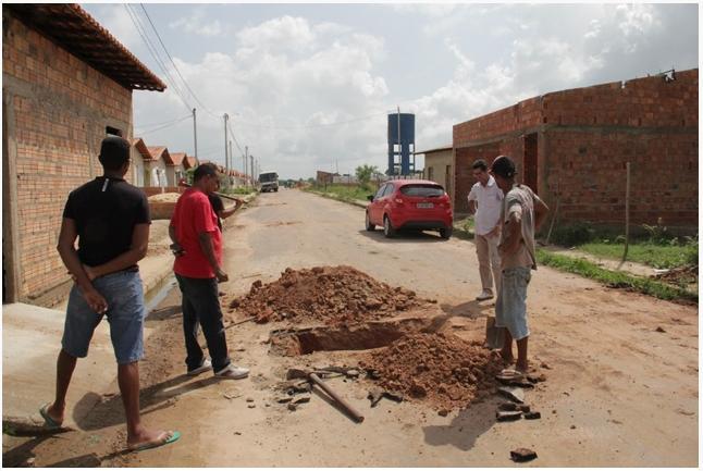 Prefeitura de Santa inês fará melhorias no residencial Sol Nascente