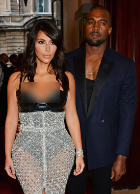 Kim Kardashian dan Kanye West - Exnim