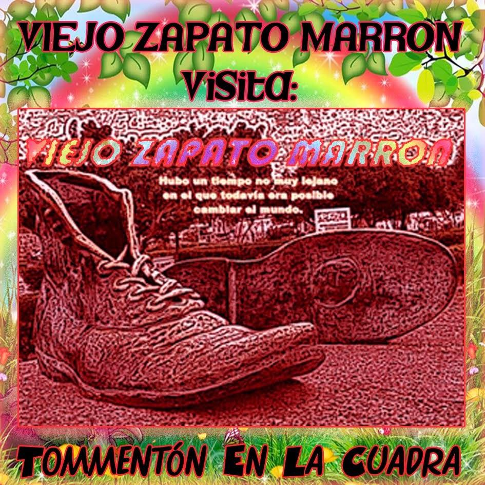 VIEJO ZAPATO MARRON VISITA TOMMENTON EN LA CUADRA