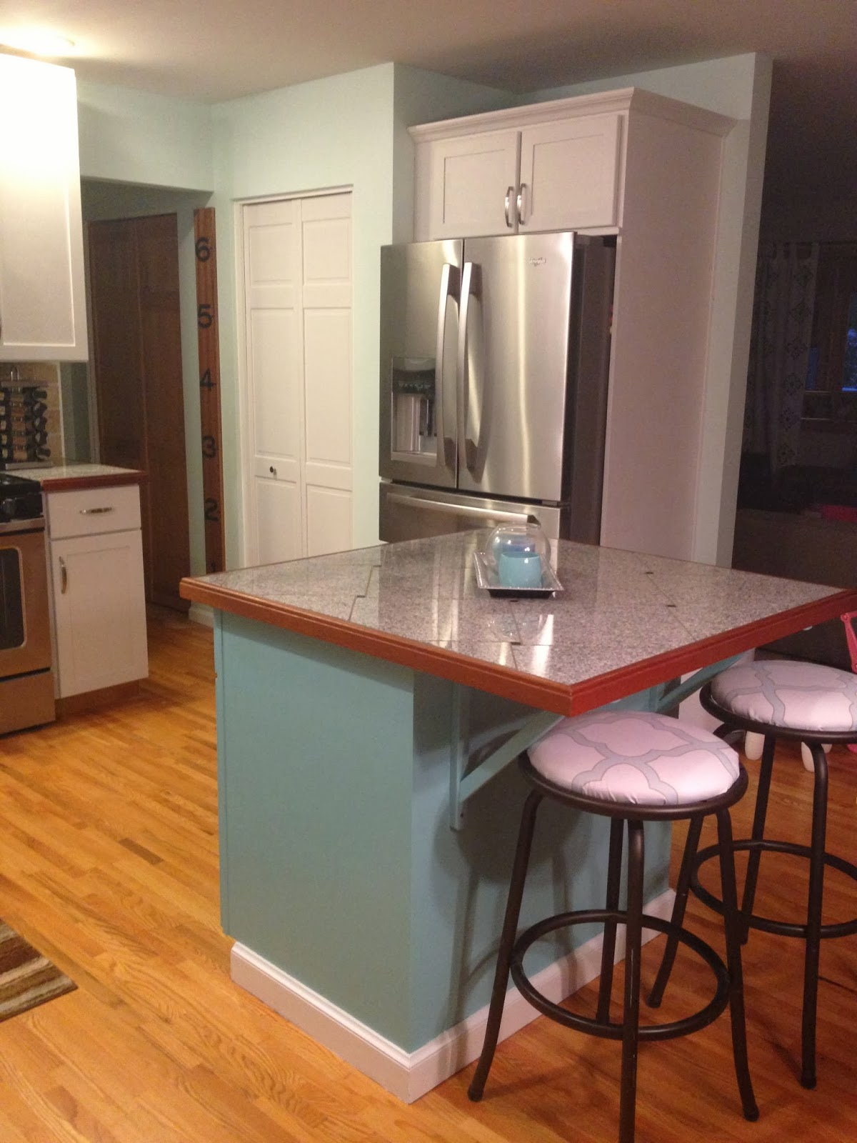 So my new kitchen led to a lot of extra old kitchen cabinets!