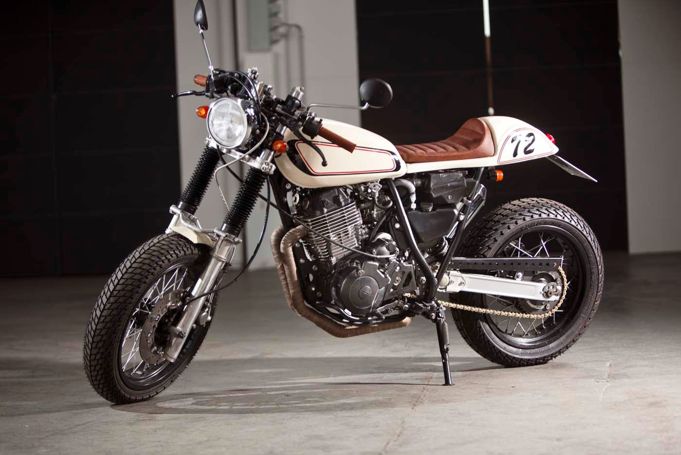 Yamaha XT 600 Cafe Racer | Yamaha Cafe Racer | Yamaha XT 600Z 1VJ | Yamaha Cafe Racer Conversion | Yamaha Cafe Racer parts | Yamaha Cafe Racer for sale | Yamaha Cafe Racer seat | Yamaha Cafe Racer project | Benders Echte