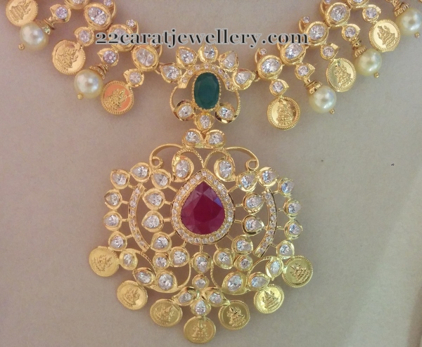 Pachi Style 60 Grams CZ Necklace