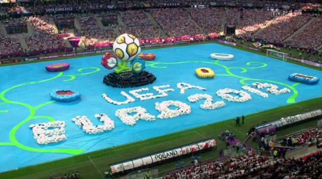 photo Opening Ceremony, UEFA EURO 2012