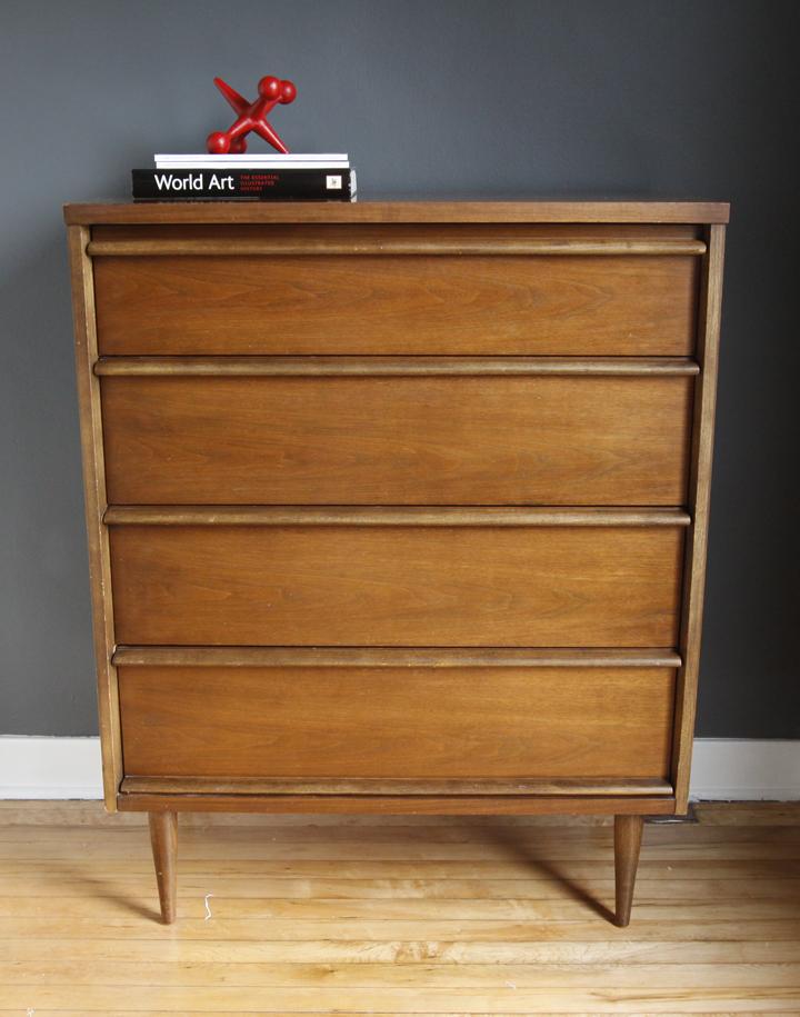 Str8mcm 4 drawer dresser for 12 inch depth dresser