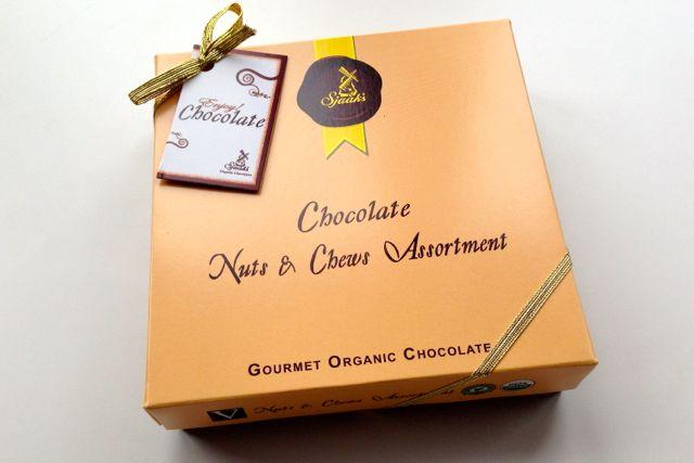 Sjaak's Chocolate Nuts & Chews Assortment