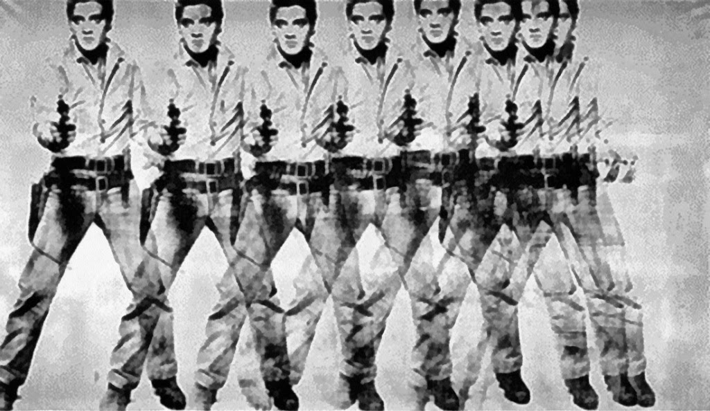 Andy Warhol Eight Elvises