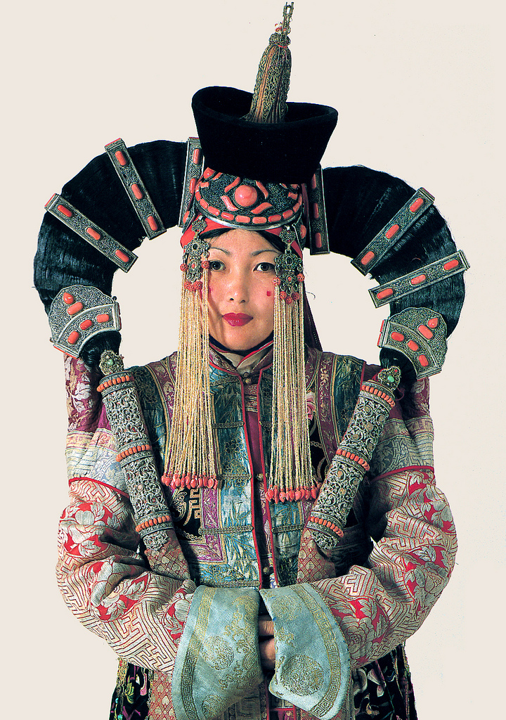 Mongolian Fashion Women