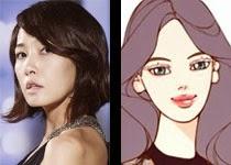 Kim Sun Ah would be great as Hong Nya Nya in Beautiful Man