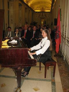 """Omaggio all'Albania """"Concerto Con i Grandi della Musica Classica"""" a Milano"""