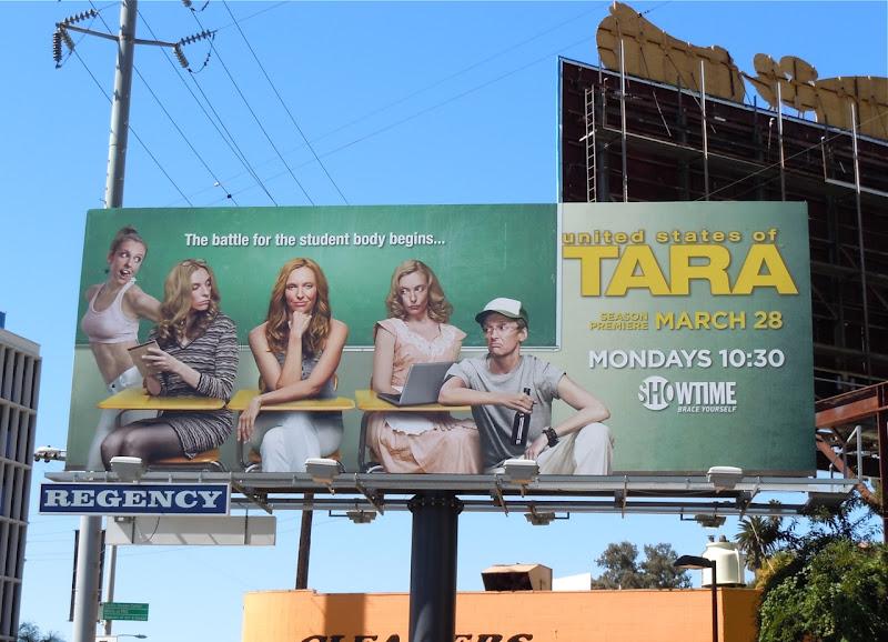 United States of Tara season 3 TV billboard