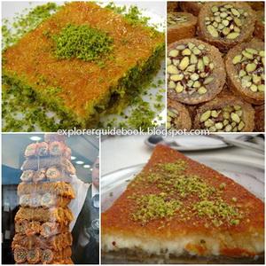 Makanan Turki Istambul Kadayif