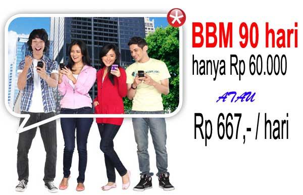 Promo Paket BBM90 Murah dari SmartFren