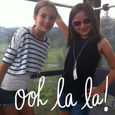 A Beautiful Mess App - Gondola Ooh, la, la girls