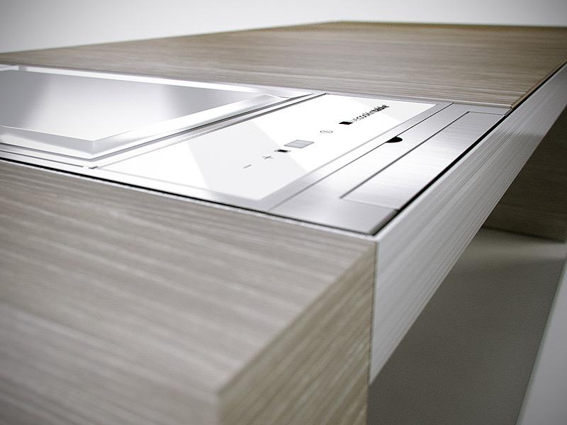 Marzua una cocina integrada en una mesa for Mesa apoyo cocina
