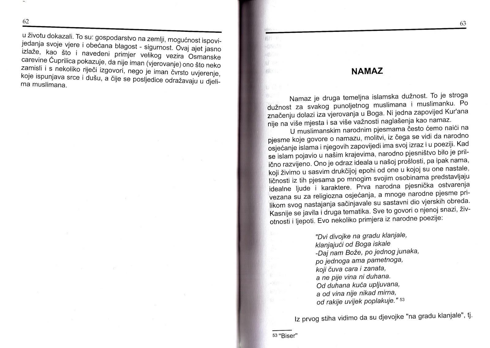 sevdalinke  hivzija suljki u0107  ezan  u narodnoj pjesmi   u  islam u bo u0161nja u010dkoj narodnoj poeziji