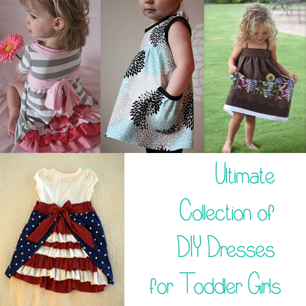 diy dress for toddler