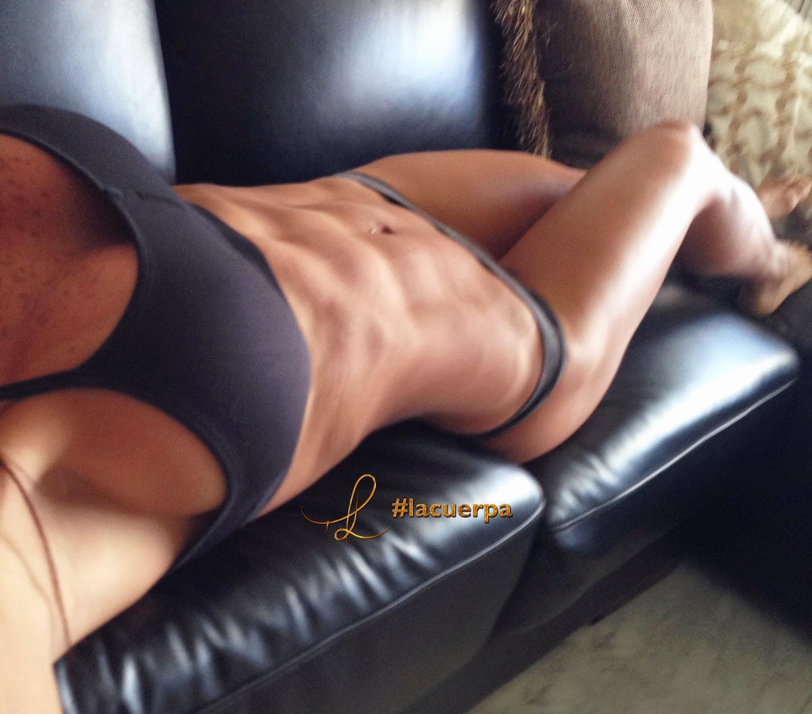 Con el nuevo año llegan los nuevos propósitos y con el de mejorar nuestro cuerpo llega Michelle Lewin, la reina del crossfit.  Sexy, escultural y divina.