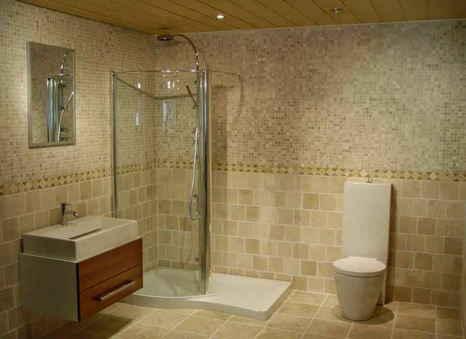 keramik kamar mandi minimalis modern