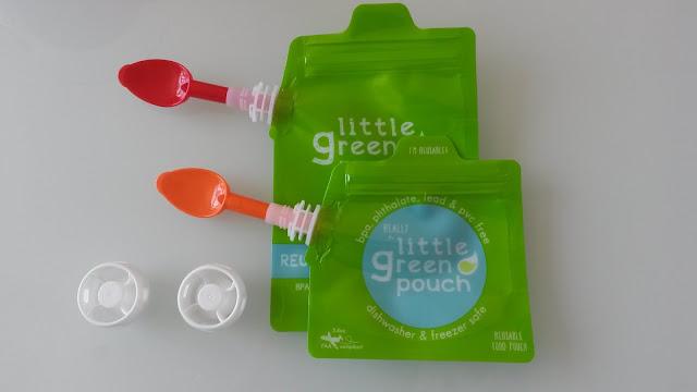 Little Green Pouch gourde enfant transportable reutilisable